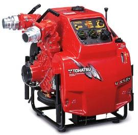 Bảo trì máy bơm chữa cháy Tohatsu dự phòng