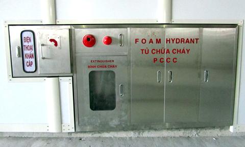 Bảo trì hệ thống báo cháy gắn tường