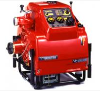 Máy bơm chữa cháy Rabbit nhập khẩu - P407