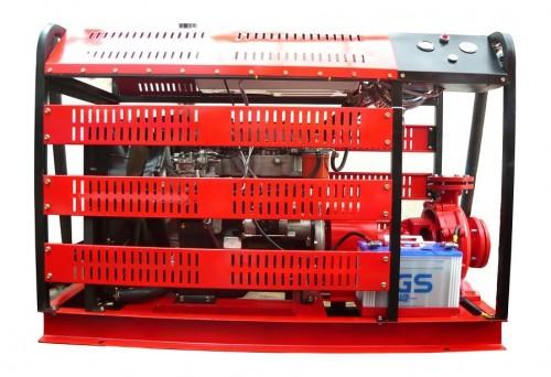 Máy bơm chữa cháy Hyundai nhập khẩu - D4BB-50HP