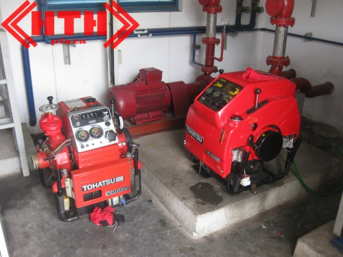 Máy bơm cứu hỏa Tohatsu chữa cháy hiệu quả nhất hiện nay