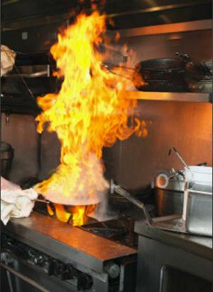 Phòng cháy khi sử dụng gas