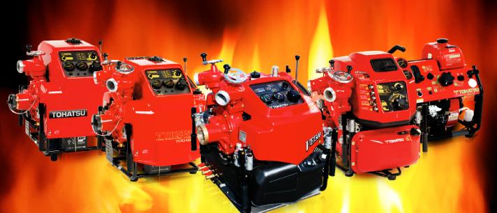 Máy bơm chữa cháy nhập khẩu