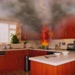 Cách cứu hỏa trong bếp