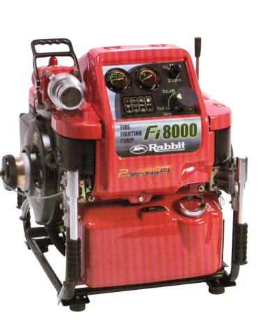 Máy bơm chữa cháy Rabbit cao cấp - Fi 8000