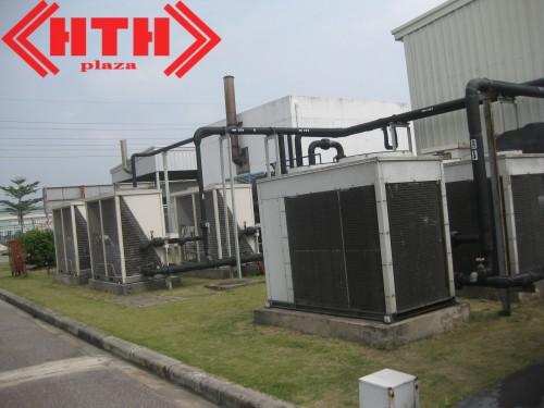 Khu lắp đặt hệ thống máy bơm phòng cháy chữa cháy