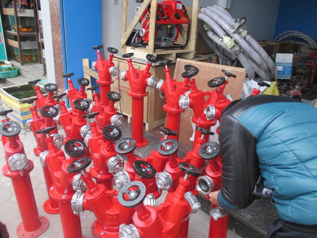 Phân phối máy bơm cứu hỏa Japan cho công ty chế biến gỗ An Bình