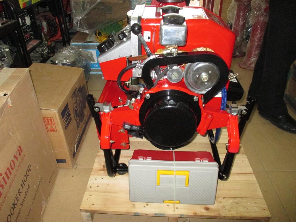 Cung cấp máy bơm cứu hỏa Công ty CPXD Thương Mại Sao Bắc